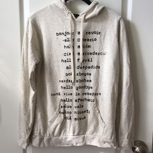 Forever 21 Languages Hoodie